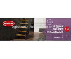 RINTAL - bezpłatny pomiar  i wizualizacja schodów