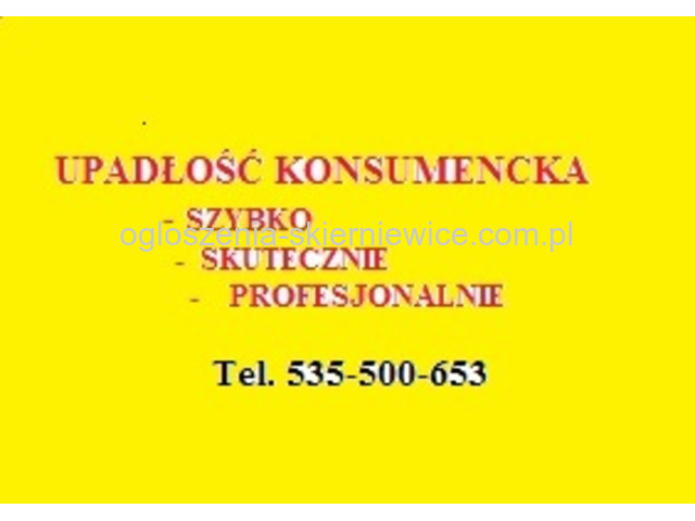 Upadłość Konsumencka / Szybko Tanio Profesjonalnie /