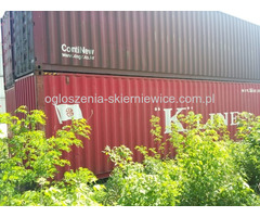 Kontener 40HC 100% szczelny morski budowlany