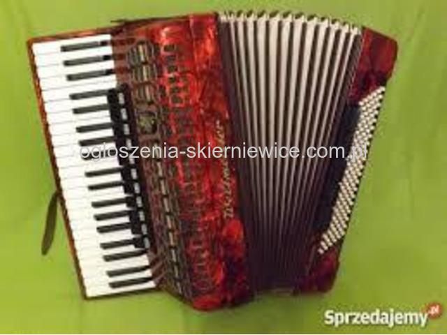 Nauka gry na akordeonie, pianinie , keyboardzie