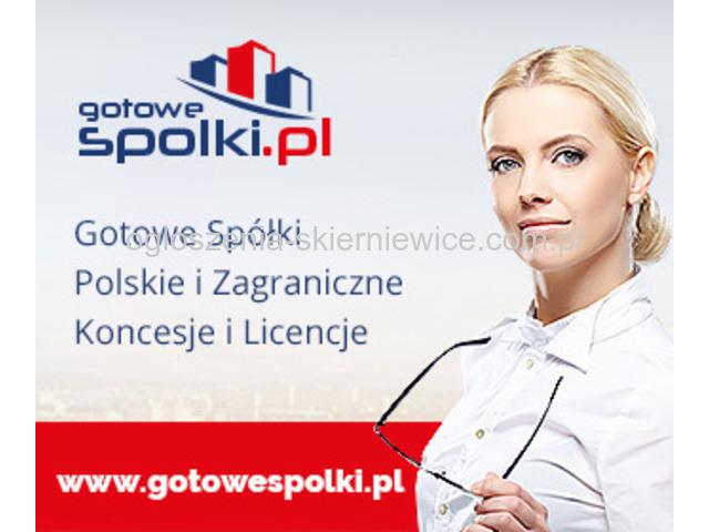Gotowe Spółki Akcyjne z VAT EU 603557777, Wirtualne Biuro