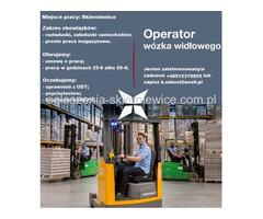 Operator Wózka Widłowego - Skierniewice