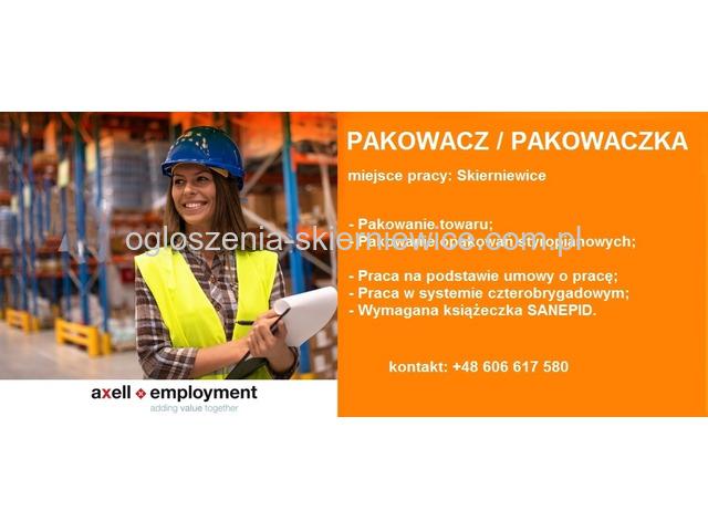 Pakowacz / Pakowaczka - Skierniewice